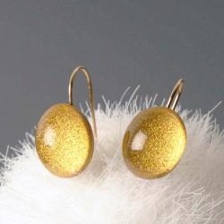 Boucles d'oreilles MX 588 doré