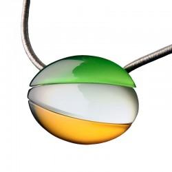 Collier MX 485 vert vif et...